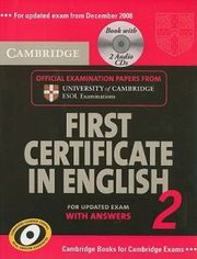 First Certificate In English 2 for updated exam with answers,