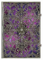 Paperblanks Notes 240 stron  Aubergine Mini linia 9781439728888,