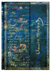 Notes Paperblanks Monet Water Lilies Letterr to Morisot Midi linia 144strony,
