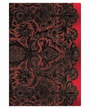 Notes Paperblanks Lace Allure Rouge Midi linia,