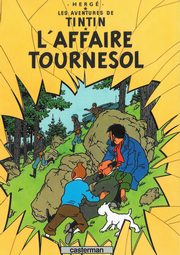 Tintin L'Affaire Tournesol, Herge