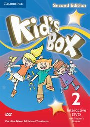 Kid's Box Second Edition 2 Interactive DVD (NTSC) with Teacher's Booklet, Nixon Caroline, Tomlinson Michael, Elliott Karen