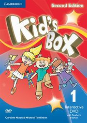 Kid's Box Second Edition 1 Interactive DVD (NTSC) with Teacher's Booklet, Nixon Caroline, Tomlinson Michael, Elliott Karen