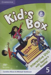 Kid's Box Level 5 Interactive DVD with Teacher's Booklet, Nixon Caroline, Tomlinson Michael, Elliott Karen