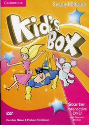 Kid's Box Second Edition Starter Interactive DVD (NTSC) with Teacher's Booklet, Nixon Caroline, Tomlinson Michael, Elliott Karen