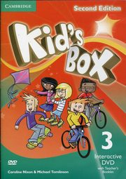Kid's Box Second Edition 3 Interactive DVD (NTSC) with Teacher's Booklet, Nixon Caroline, Tomlinson Michael, Elliott Karen