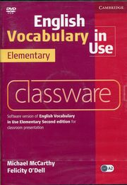 English Vocabulary in Use Elementary Classware, McCarthy Michael, O'Dell Felicity