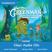 Greenman and the Magic Forest Starter Class Audio CDs (2), McConnell Sarah, Miller Marilyn, Elliot Karen
