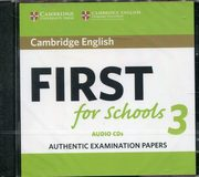 Cambridge English First for Schools 3,