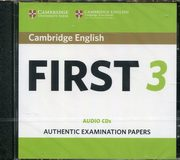 Cambridge English First 3 CD-Audio,
