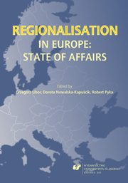 ksiazka tytuł: Regionalisation in Europe: The State of Affairs - 02 A Spectrum of Regionalism in Scotland ? History, Experience and Innovation? autor: